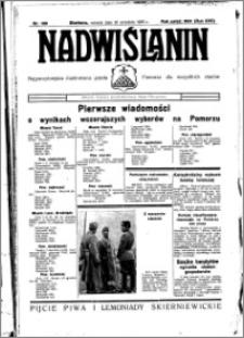 Nadwiślanin. Gazeta Ziemi Chełmińskiej, 1935.09.10 R. 17 nr 108