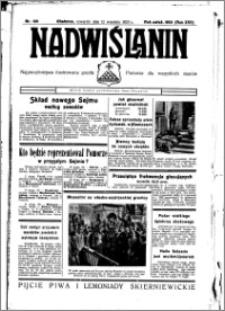 Nadwiślanin. Gazeta Ziemi Chełmińskiej, 1935.09.12 R. 17 nr 109