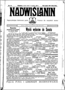 Nadwiślanin. Gazeta Ziemi Chełmińskiej, 1935.09.17 R. 17 nr 111