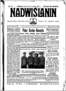 Nadwiślanin. Gazeta Ziemi Chełmińskiej, 1935.09.22 R. 17 nr 113