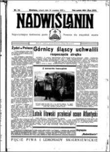 Nadwiślanin. Gazeta Ziemi Chełmińskiej, 1935.09.24 R. 17 nr 114