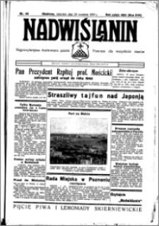 Nadwiślanin. Gazeta Ziemi Chełmińskiej, 1935.09.29 R. 17 nr 116