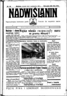 Nadwiślanin. Gazeta Ziemi Chełmińskiej, 1935.10.03 R. 17 nr 118