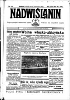 Nadwiślanin. Gazeta Ziemi Chełmińskiej, 1935.10.08 R. 17 nr 120