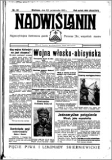 Nadwiślanin. Gazeta Ziemi Chełmińskiej, 1935.10.09-10 R. 17 nr 121