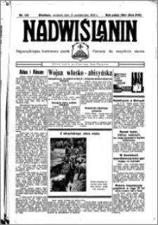 Nadwiślanin. Gazeta Ziemi Chełmińskiej, 1935.10.13 R. 17 nr 122