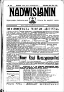 Nadwiślanin. Gazeta Ziemi Chełmińskiej, 1935.10.15 R. 17 nr 123