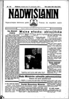 Nadwiślanin. Gazeta Ziemi Chełmińskiej, 1935.10.20 R. 17 nr 125