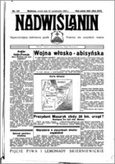 Nadwiślanin. Gazeta Ziemi Chełmińskiej, 1935.10.22 R. 17 nr 126