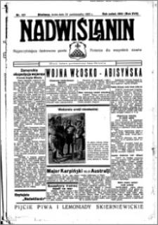 Nadwiślanin. Gazeta Ziemi Chełmińskiej, 1935.10.23 R. 17 nr 127