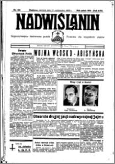 Nadwiślanin. Gazeta Ziemi Chełmińskiej, 1935.10.27 R. 17 nr 128