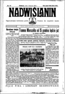 Nadwiślanin. Gazeta Ziemi Chełmińskiej, 1935.11.03 R. 17 nr 131