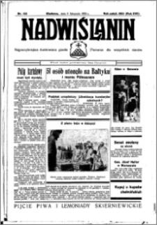 Nadwiślanin. Gazeta Ziemi Chełmińskiej, 1935.11.05 R. 17 nr 132