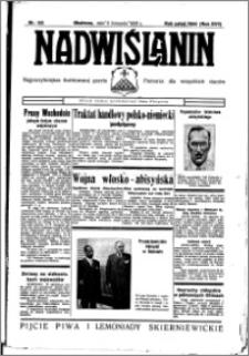 Nadwiślanin. Gazeta Ziemi Chełmińskiej, 1935.11.06 R. 17 nr 133