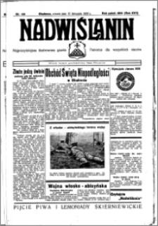 Nadwiślanin. Gazeta Ziemi Chełmińskiej, 1935.11.12 R. 17 nr 135