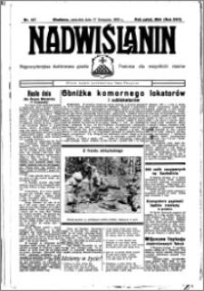 Nadwiślanin. Gazeta Ziemi Chełmińskiej, 1935.11.17 R. 17 nr 137