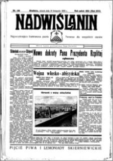 Nadwiślanin. Gazeta Ziemi Chełmińskiej, 1935.11.19 R. 17 nr 138
