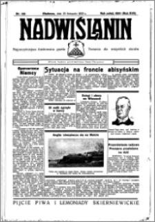 Nadwiślanin. Gazeta Ziemi Chełmińskiej, 1935.11.20 R. 17 nr 139