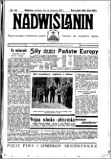 Nadwiślanin. Gazeta Ziemi Chełmińskiej, 1935.11.24 R. 17 nr 140