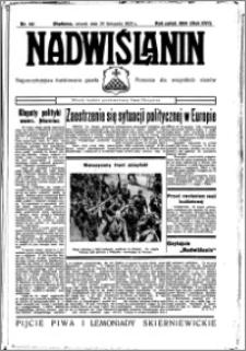 Nadwiślanin. Gazeta Ziemi Chełmińskiej, 1935.11.26 R. 17 nr 141