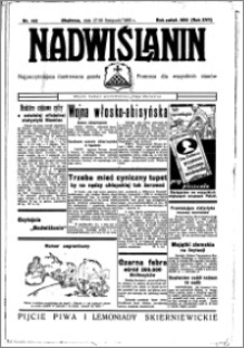 Nadwiślanin. Gazeta Ziemi Chełmińskiej, 1935.11.27-28 R. 17 nr 142