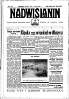 Nadwiślanin. Gazeta Ziemi Chełmińskiej, 1935.12.01 R. 17 nr 143