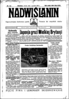 Nadwiślanin. Gazeta Ziemi Chełmińskiej, 1935.12.03 R. 17 nr 144