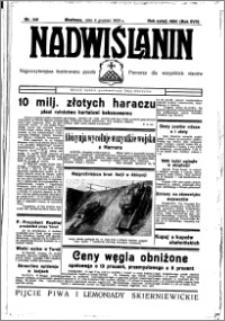 Nadwiślanin. Gazeta Ziemi Chełmińskiej, 1935.12.04 R. 17 nr 145