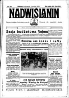 Nadwiślanin. Gazeta Ziemi Chełmińskiej, 1935.12.08 R. 17 nr 146