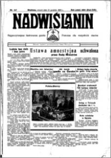 Nadwiślanin. Gazeta Ziemi Chełmińskiej, 1935.12.10 R. 17 nr 147