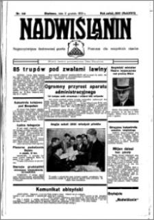 Nadwiślanin. Gazeta Ziemi Chełmińskiej, 1935.12.11 R. 17 nr 148