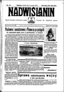 Nadwiślanin. Gazeta Ziemi Chełmińskiej, 1935.12.15 R. 17 nr 149