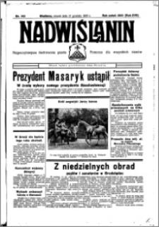 Nadwiślanin. Gazeta Ziemi Chełmińskiej, 1935.12.17 R. 17 nr 150