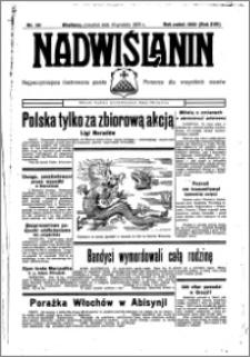Nadwiślanin. Gazeta Ziemi Chełmińskiej, 1935.12.19 R. 17 nr 151