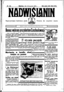 Nadwiślanin. Gazeta Ziemi Chełmińskiej, 1935.12.21-22 R. 17 nr 152