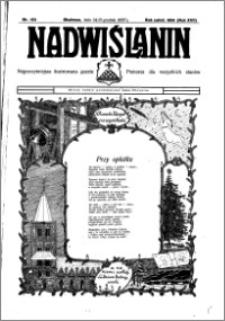 Nadwiślanin. Gazeta Ziemi Chełmińskiej, 1935.12.24-25 R. 17 nr 153