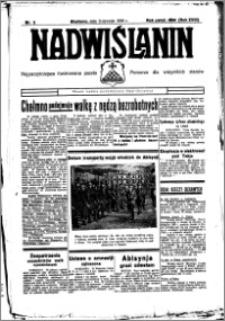 Nadwiślanin. Gazeta Ziemi Chełmińskiej, 1936.01.09 R. 18 nr 2