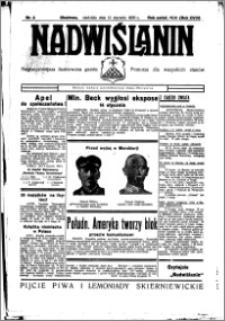 Nadwiślanin. Gazeta Ziemi Chełmińskiej, 1936.01.12 R. 18 nr 3