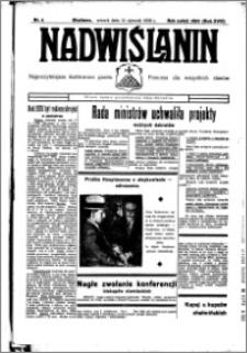 Nadwiślanin. Gazeta Ziemi Chełmińskiej, 1936.01.14 R. 18 nr 4