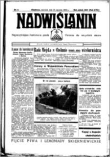 Nadwiślanin. Gazeta Ziemi Chełmińskiej, 1936.01.19 R. 18 nr 6