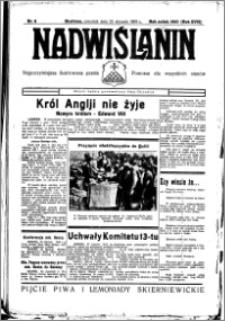 Nadwiślanin. Gazeta Ziemi Chełmińskiej, 1936.01.23 R. 18 nr 8