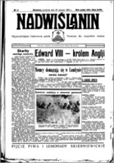 Nadwiślanin. Gazeta Ziemi Chełmińskiej, 1936.01.26 R. 18 nr 9