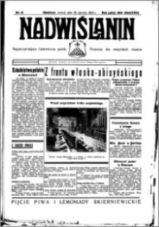 Nadwiślanin. Gazeta Ziemi Chełmińskiej, 1936.01.28 R. 18 nr 10
