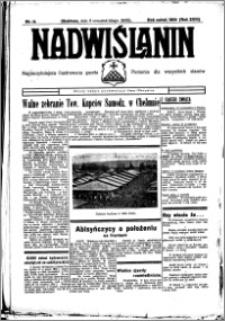 Nadwiślanin. Gazeta Ziemi Chełmińskiej, 1936.02.06 R. 18 nr 14