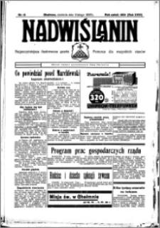 Nadwiślanin. Gazeta Ziemi Chełmińskiej, 1936.02.09 R. 18 nr 15