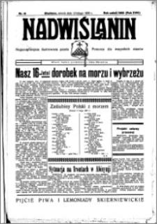 Nadwiślanin. Gazeta Ziemi Chełmińskiej, 1936.02.12 R. 18 nr 16