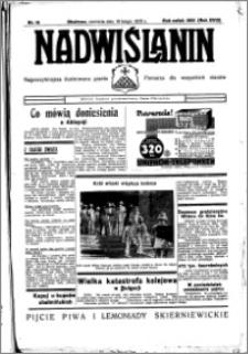 Nadwiślanin. Gazeta Ziemi Chełmińskiej, 1936.02.16 R. 18 nr 18