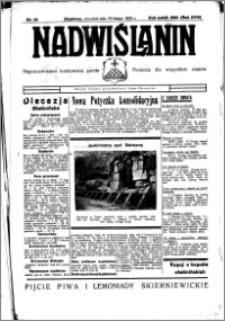Nadwiślanin. Gazeta Ziemi Chełmińskiej, 1936.02.20 R. 18 nr 20