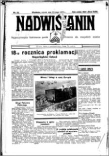 Nadwiślanin. Gazeta Ziemi Chełmińskiej, 1936.02.25 R. 18 nr 22