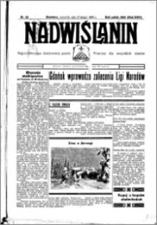 Nadwiślanin. Gazeta Ziemi Chełmińskiej, 1936.02.27 R. 18 nr 23
